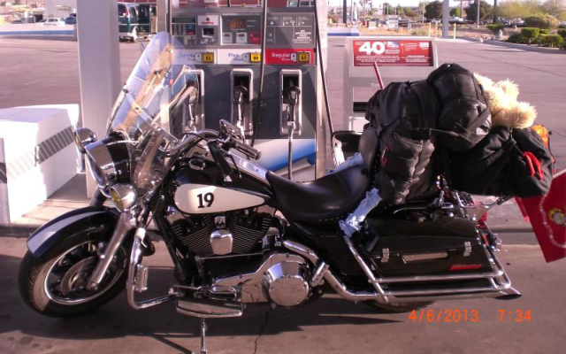 MY RIDE! A 2004 Harley-Davidson Road King Police Package
