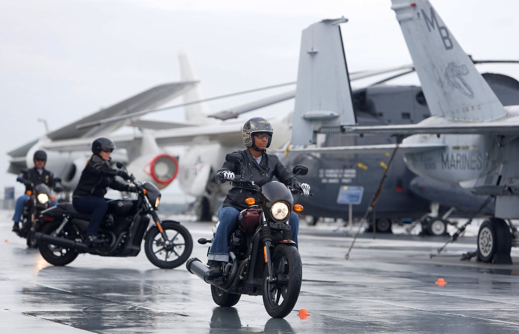 Harley Riding Academy Honors American Heroes Harley Davidson Forums