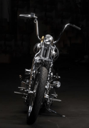indian larry motorcycles builds badass charity bike harley