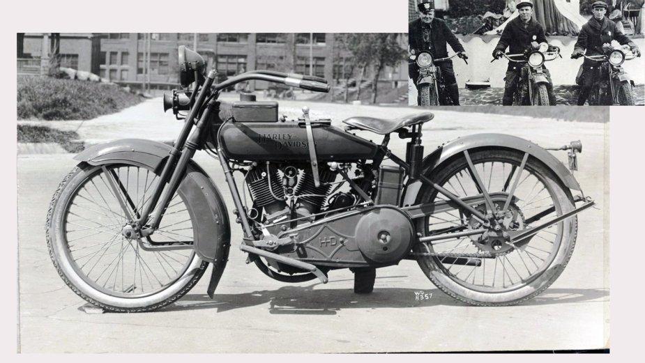 1920 Model J Police Bike
