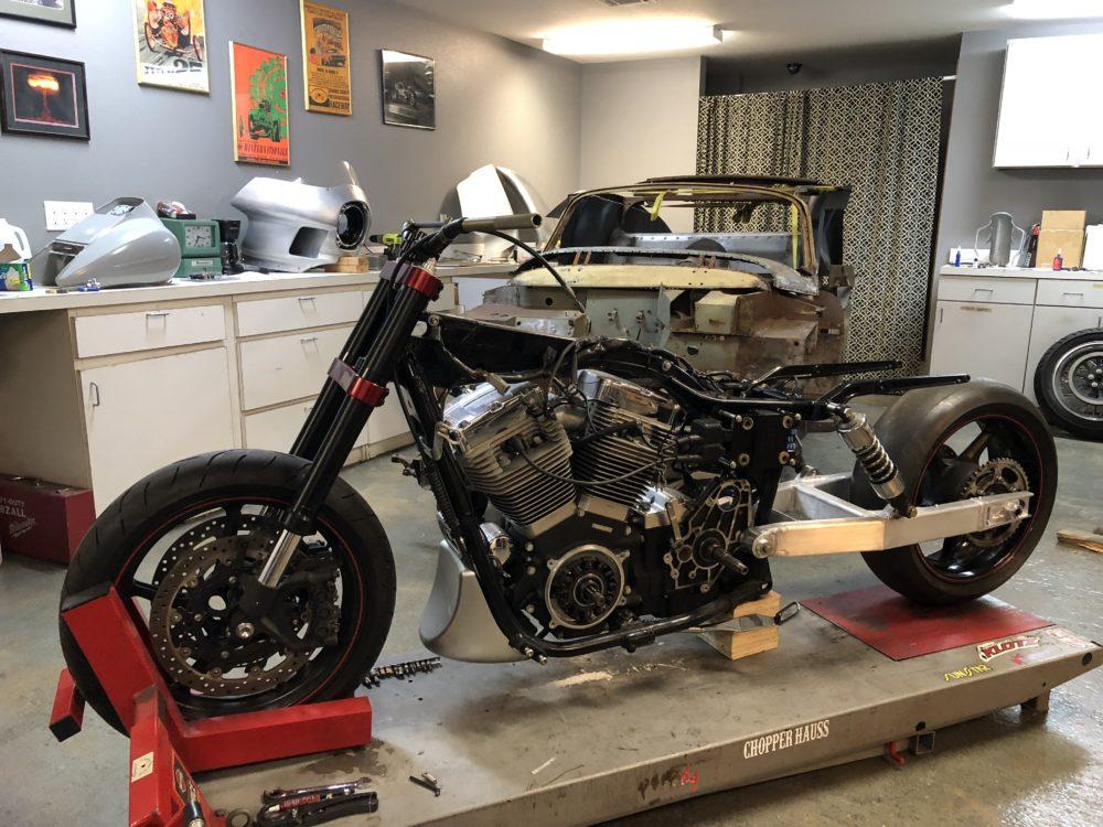 Building A Straight Dangerous Dyna Drag Bike Harley
