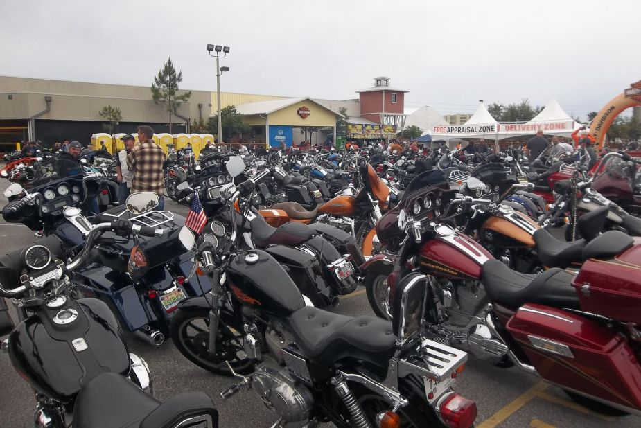HD Events Thunder Beach Spring Rally