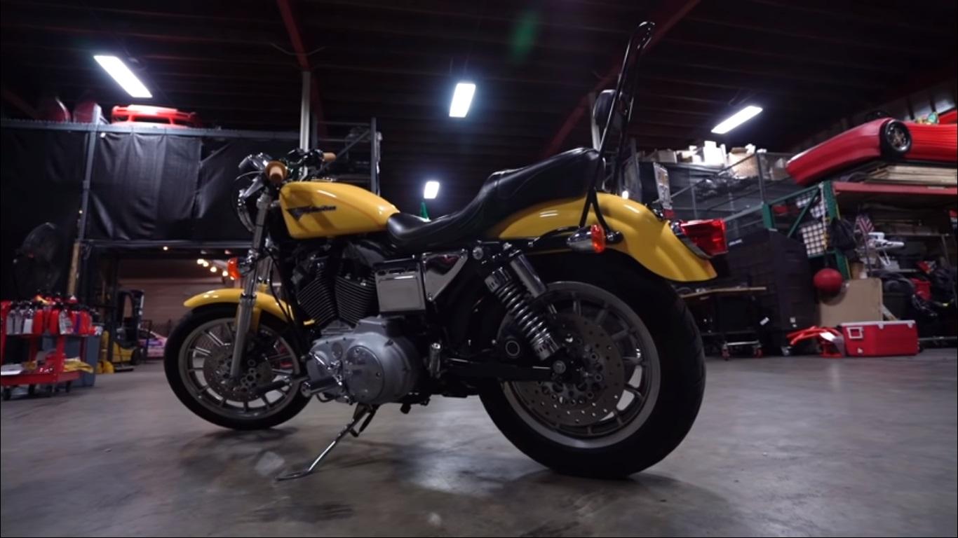 72-hour Sportster Flat Track Build - Harley Davidson Forums
