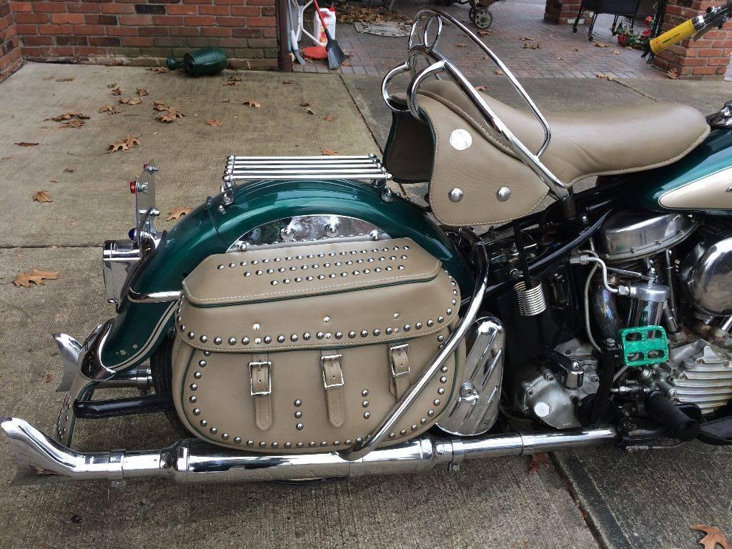 Classic 1952 Panhead Found on Craigslist - Harley Davidson