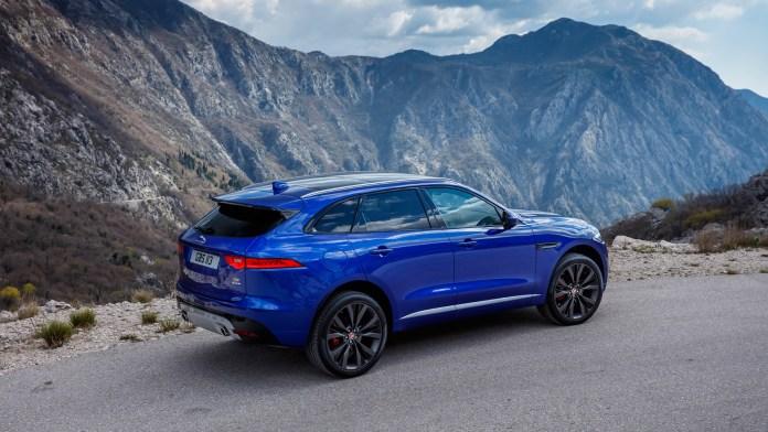 blue jaguar f pace 2017 car hd wallpaper | hd wallpapers