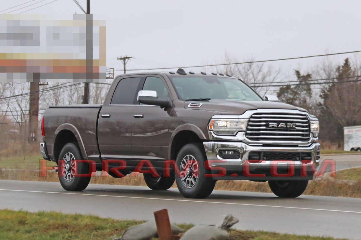 CAUGHT! Here Is The 2019 Ram HD In Multiple Trims
