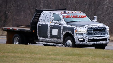 Photo of Dealer Info Gives Us More Info On The New Chassis Cab Line: