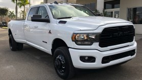 2020 Ram 3500 Big Horn Crew Cab 4x4 Night Edition. (University Dodge).