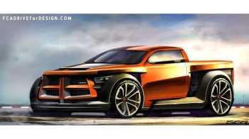 Futuristic Ram Truck Design. (Sean Smith).