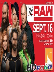 WWE Monday Night Raw 16 Sep 2019