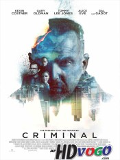 Criminal 2016 in HD English Full Movie