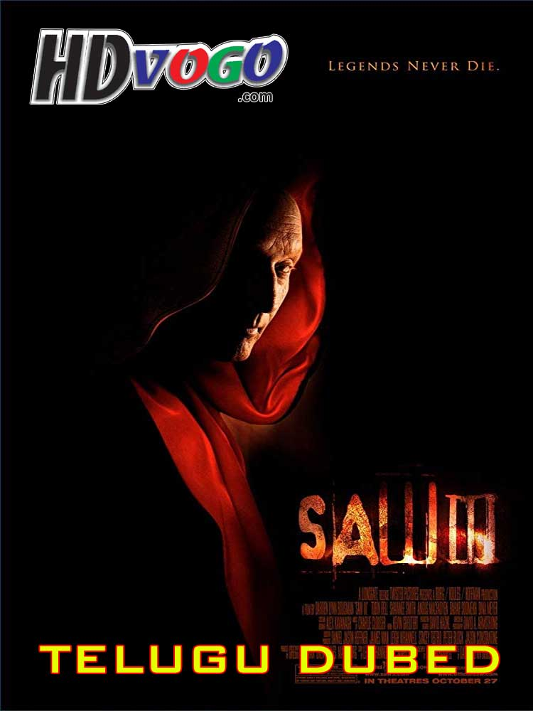 SAW 3 2006 in HD Telugu Dubbed Full Movie - Watch Movies