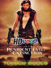 Resident Evil Extinction 2007 in HD Telugu Dubbed Full Movie
