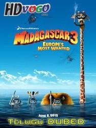 Madagascar 3 2012 in HD Telugu Dubbed Full MOvie