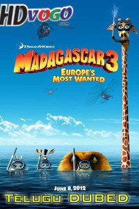 Madagascar 3 2012 in HD Telugu Dubbed Full Movie