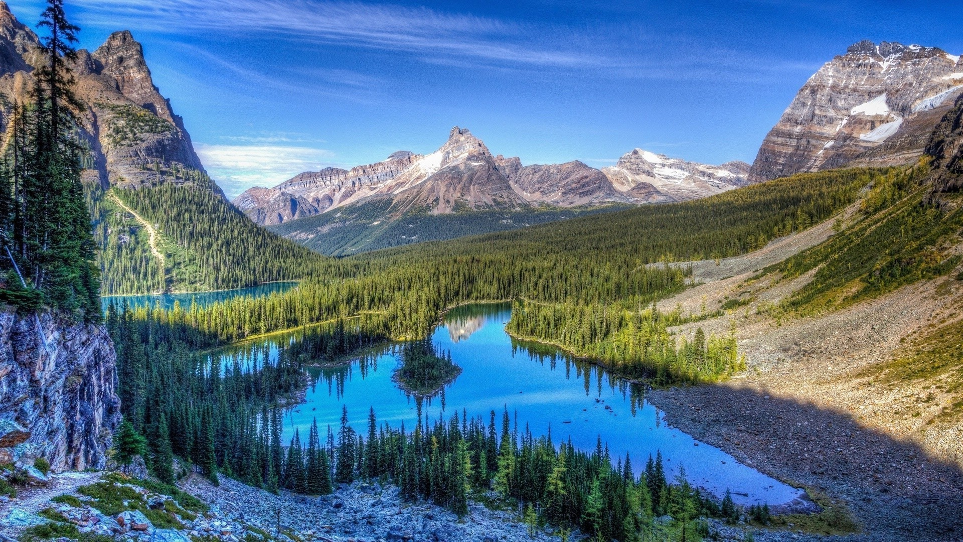 Rocky Mountains Wallpapers Pictures Images
