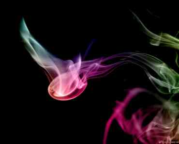 Rainbow Smoke Art 2