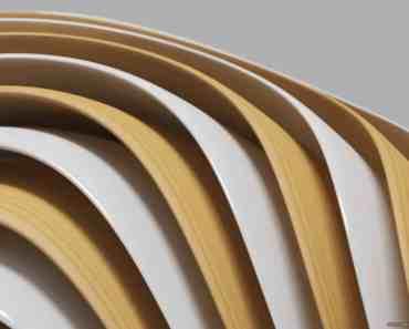 Wood & White Shapes 4