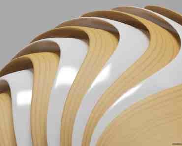 Wood & White Shapes 9