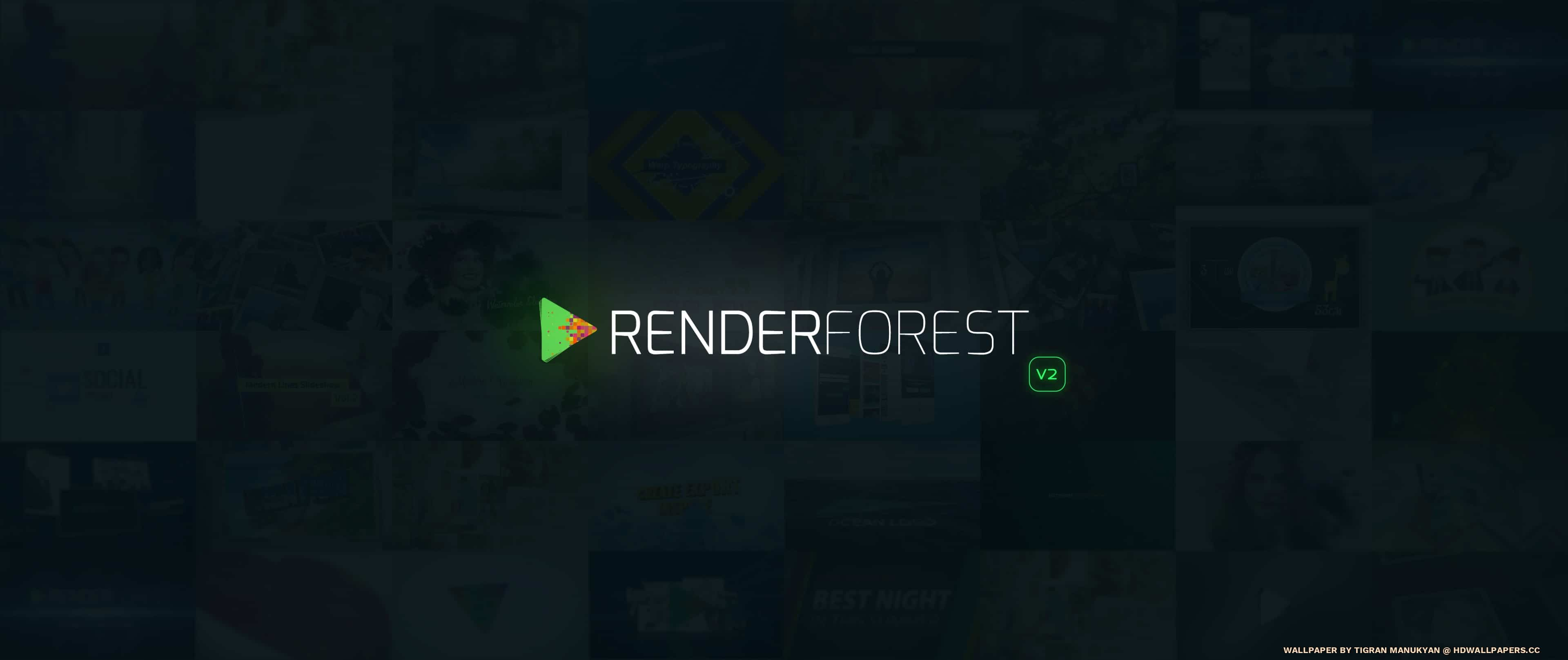 Renderforest Neon V2 Hd Wallpapers