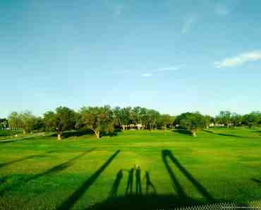 500px Photo ID: 173009117 - A park with shadows casted by us on the grass.