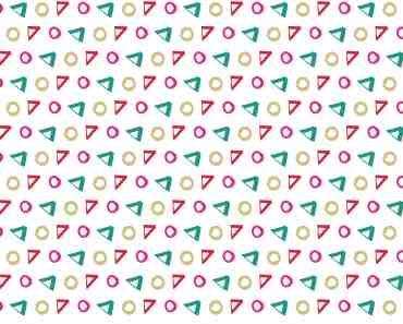 Confetti Handdrawn Shapes