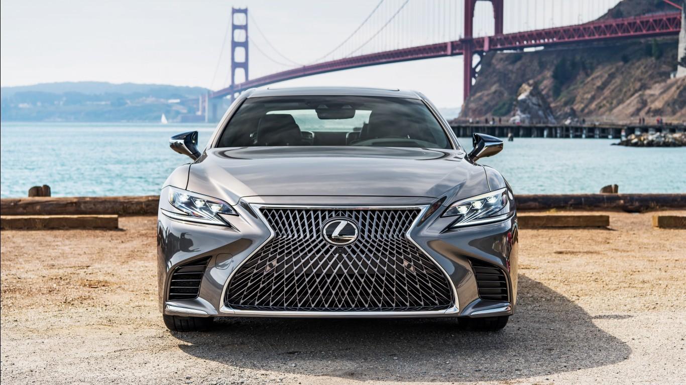 2018 Lexus LS 500 4K Wallpapers HD Wallpapers ID 21740