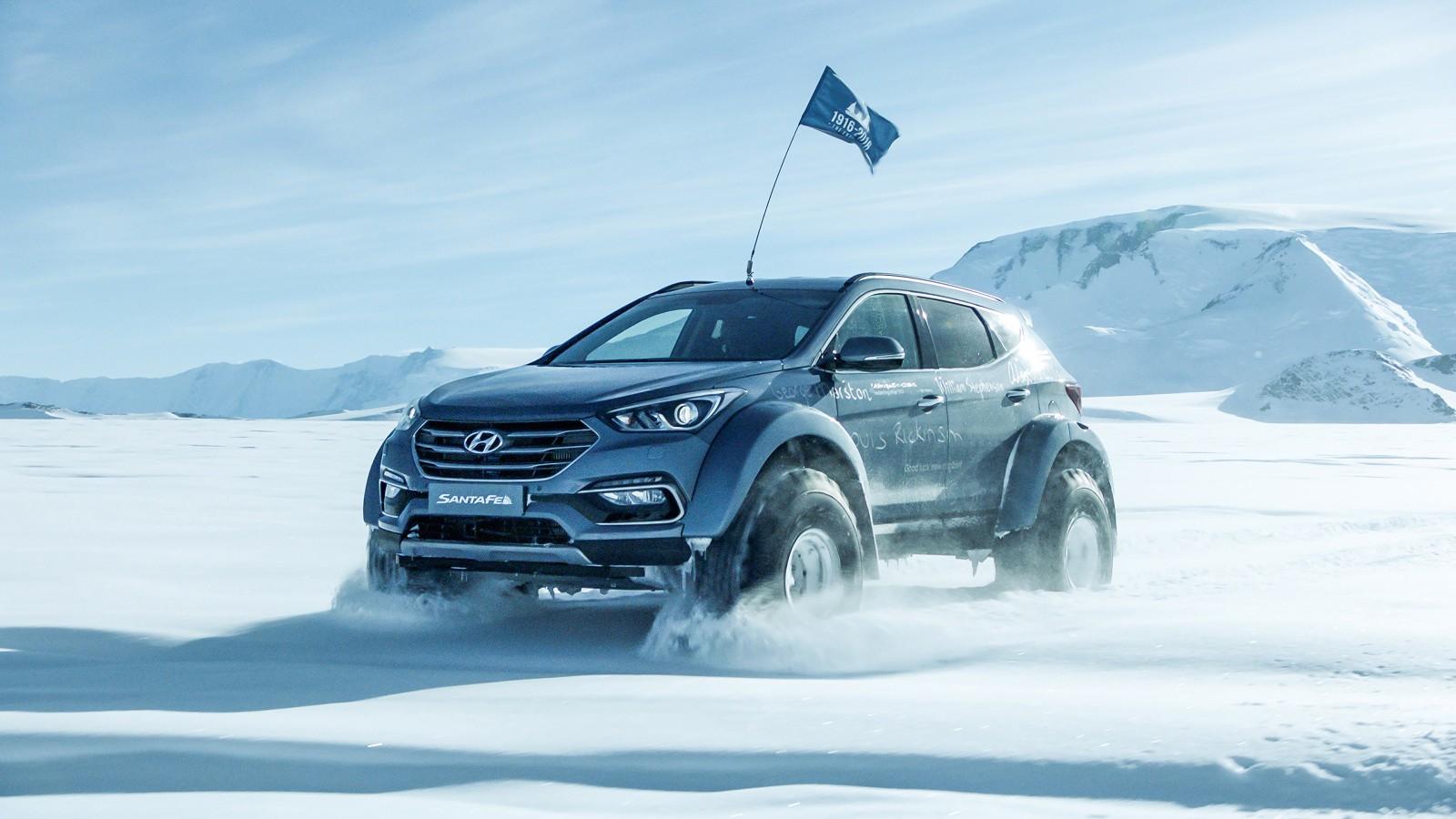 Arctic Trucks Hyundai Santa Fe 2017 Wallpapers Hd
