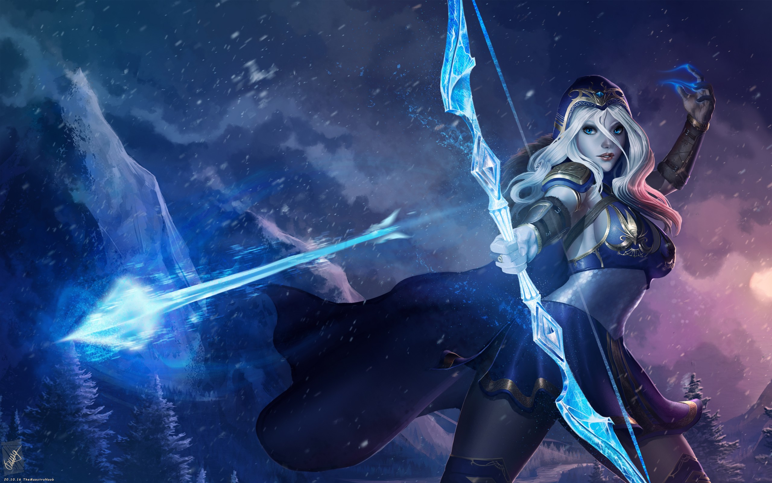 Ashe League Of Legends 4K Wallpapers HD Wallpapers ID