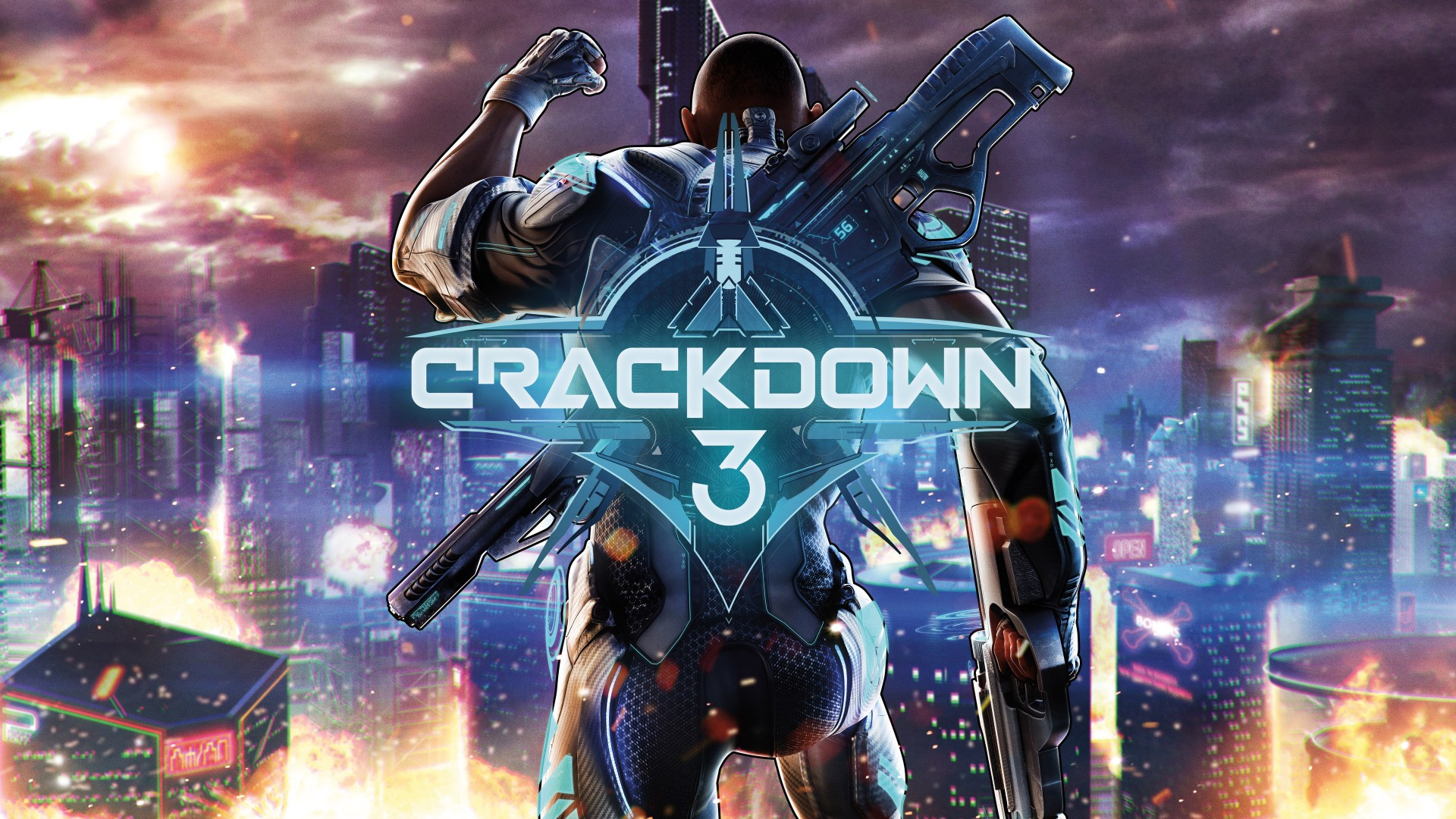 Crackdown 3 Xbox One 4k Wallpapers