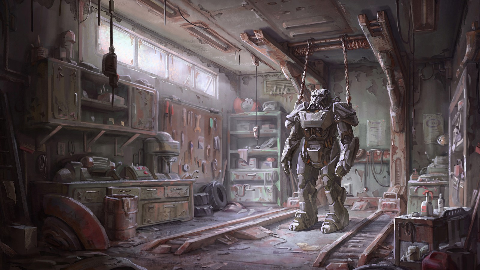 Fallout 4 Armour Wallpapers Hd Wallpapers Id 14864