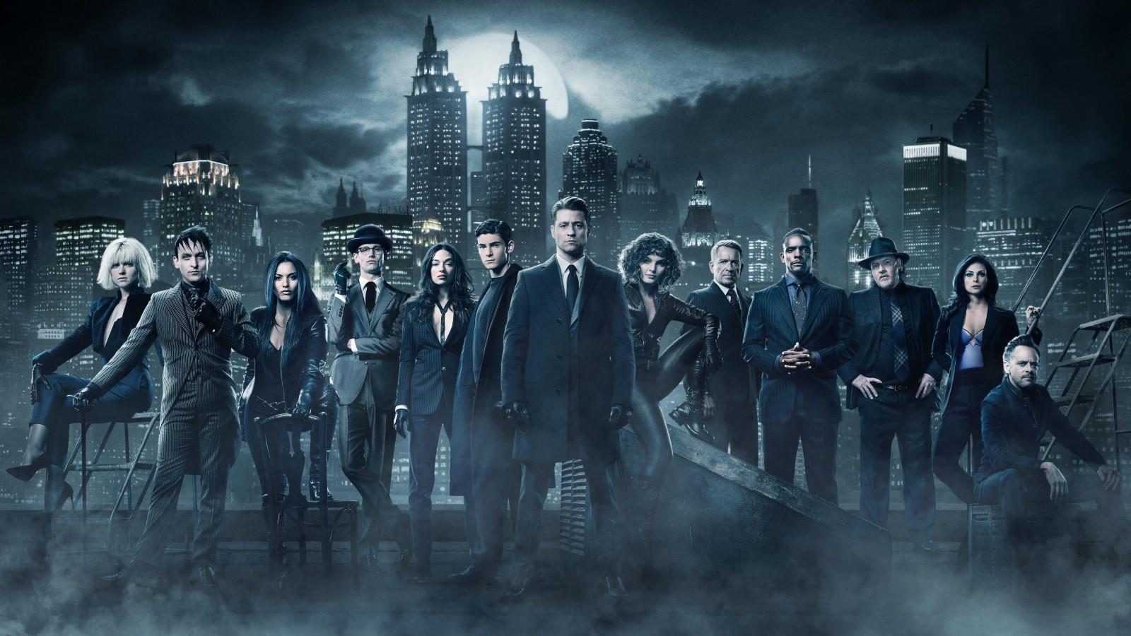 Gotham Season 4 Cast 5K 2017 Wallpapers HD Wallpapers ID 21632
