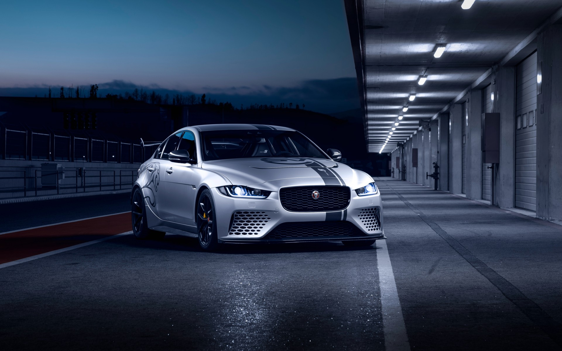 Jaguar XE SV Project 8 4K 2018 Wallpapers HD Wallpapers