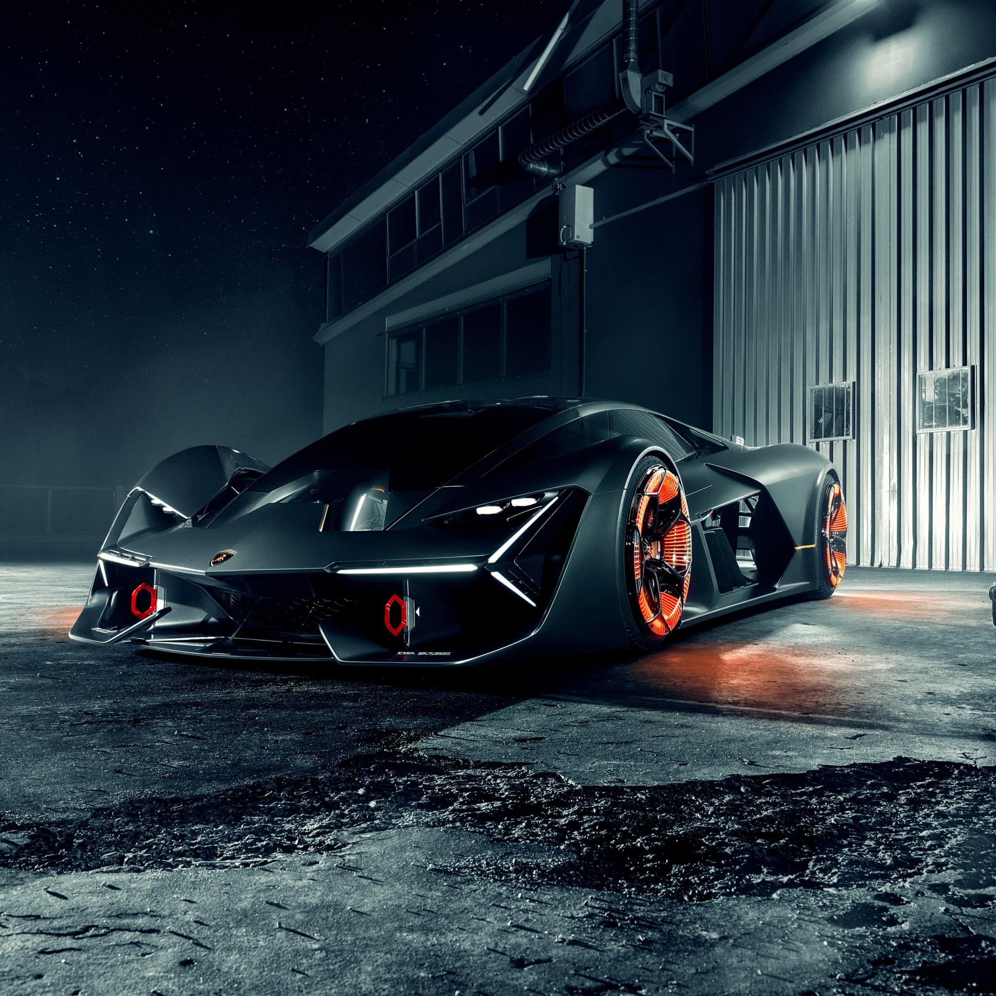 Lamborghini Terzo Millennio Concept 4k Wallpapers Hd