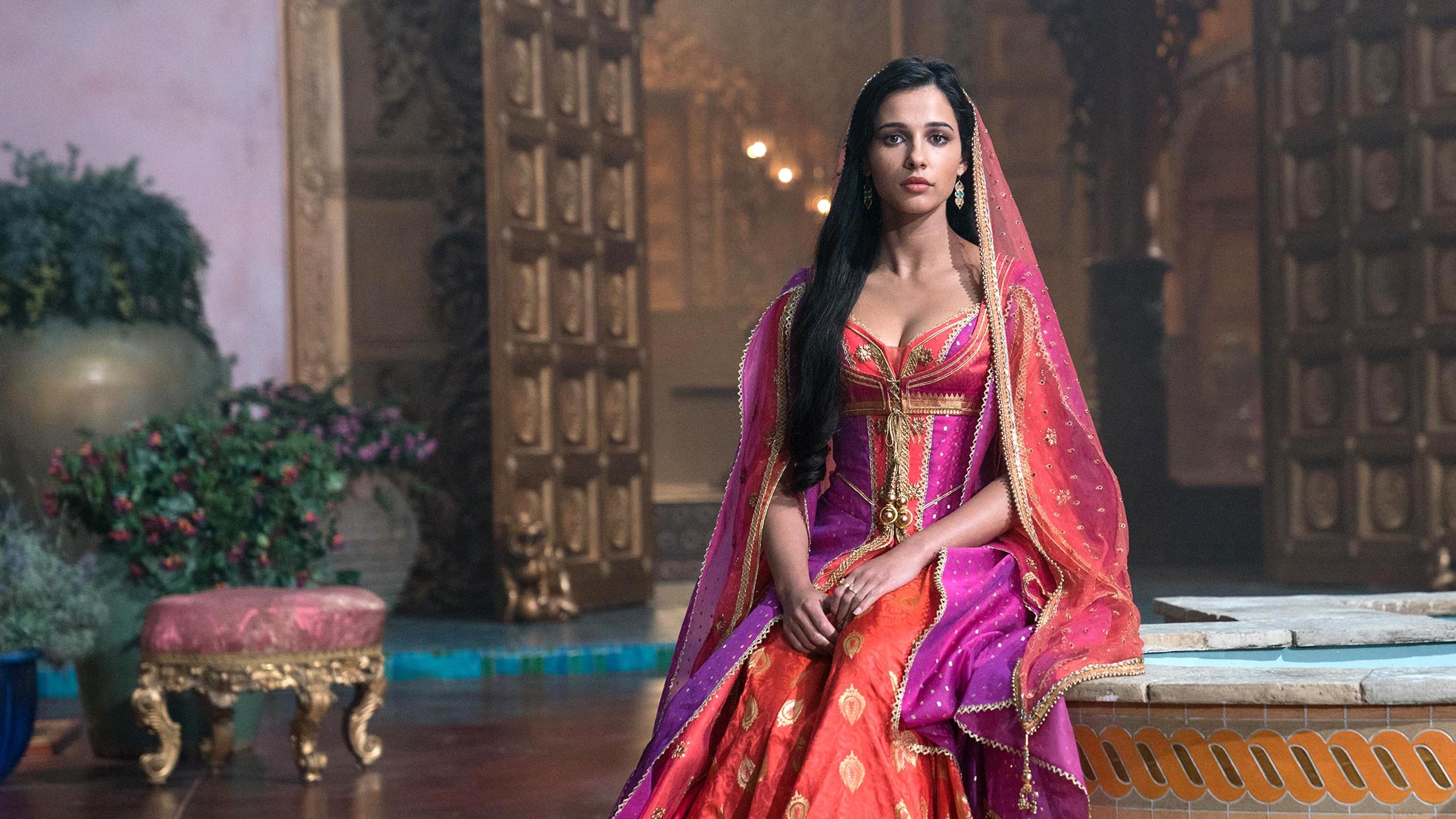 Naomi Scott As Princess Jasmine In Aladdin Wallpapers HD
