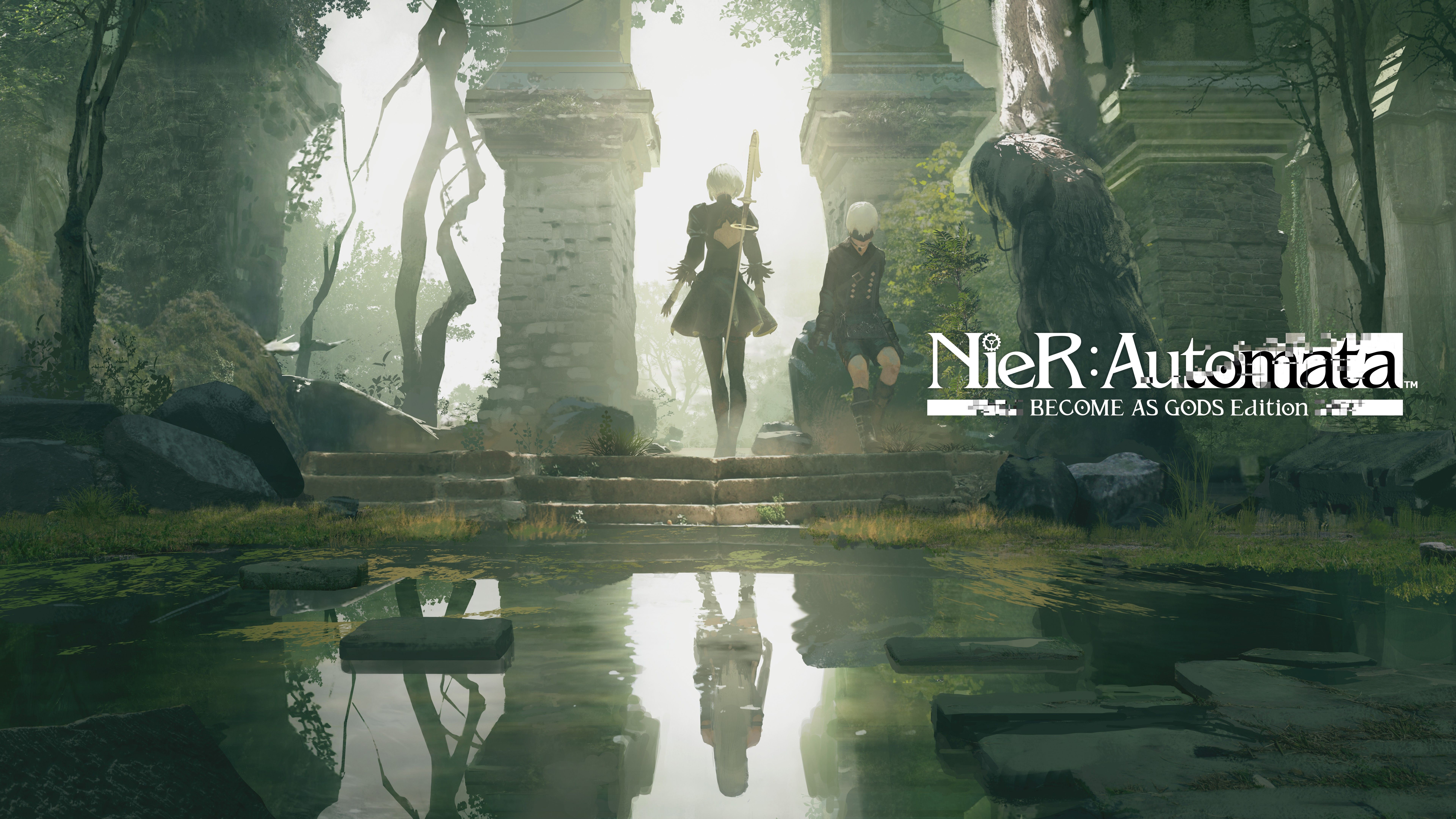 NieR Automata Become As Gods Edition 4K 8K Wallpapers HD