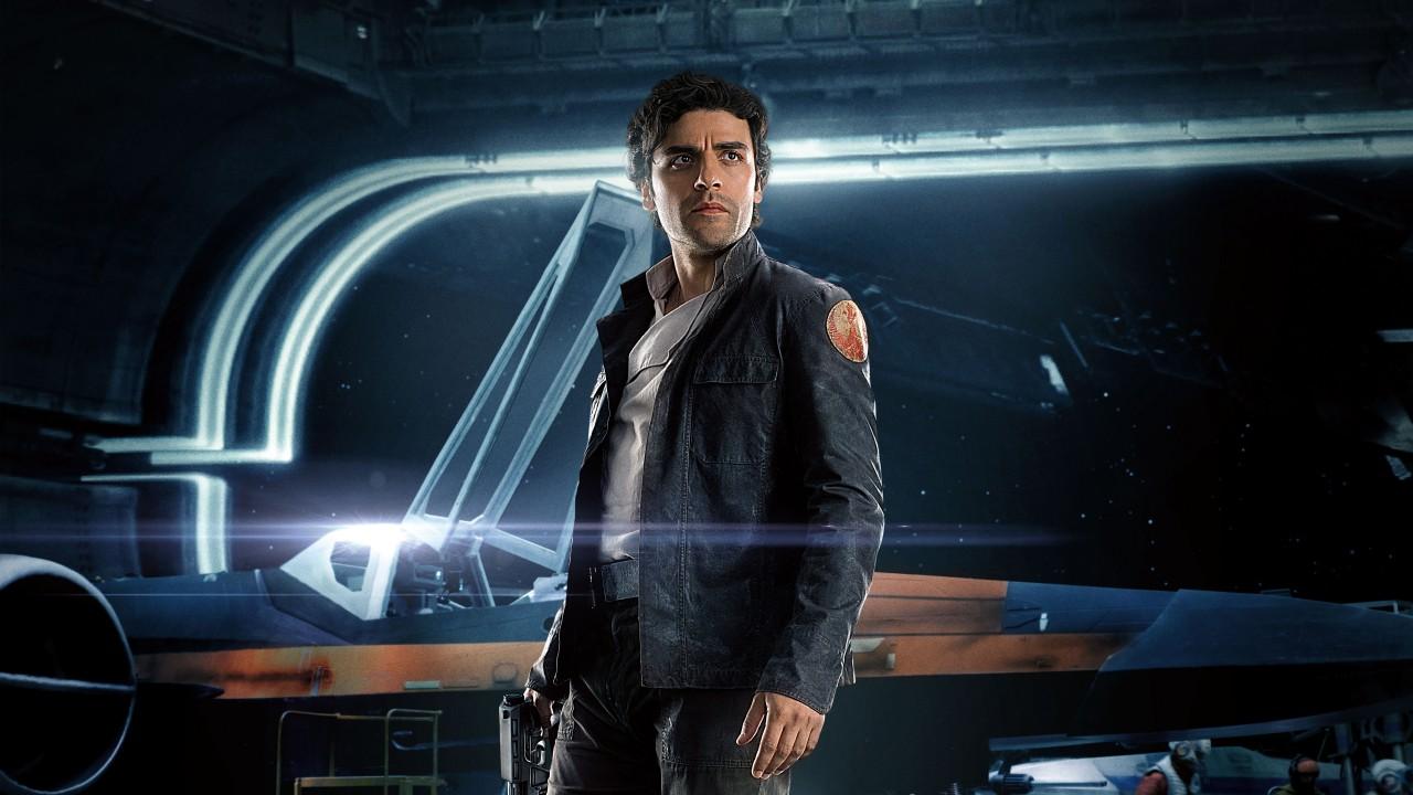 Rise of Skywalker Oscar Isaac Poe Dameron Star Wars The Last Jedi 4K ...