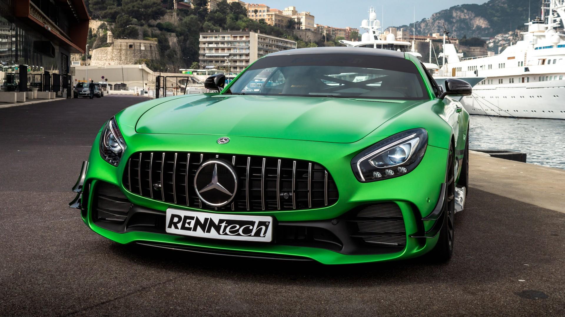 Renntech Mercedes Amg Gt R 2018 4k Wallpapers Hd