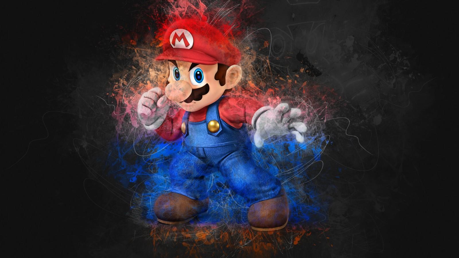 Super Mario Artwork 4K Wallpapers HD Wallpapers ID 25060