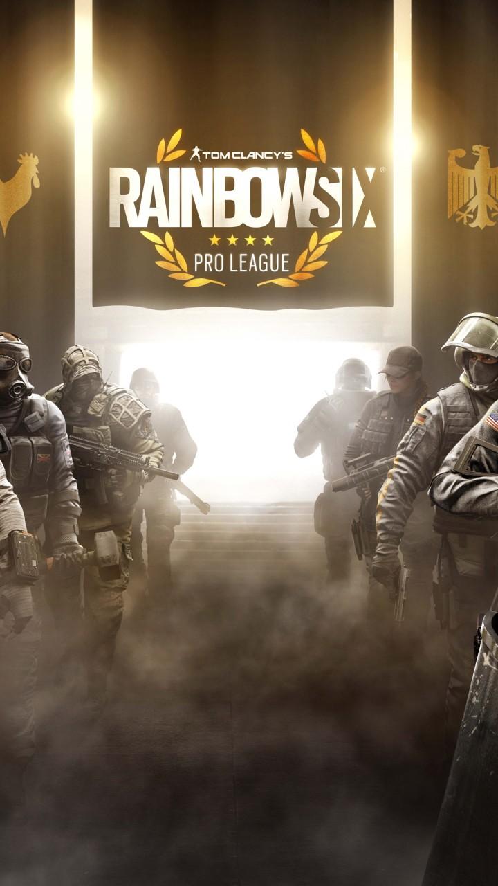 Siege 1080 Six 1080 Rainbow X Logo