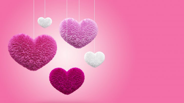Fluffy Hearts Wallpaper   Love HD Wallpapers   HDwallpapers net Fluffy Hearts Wallpaper