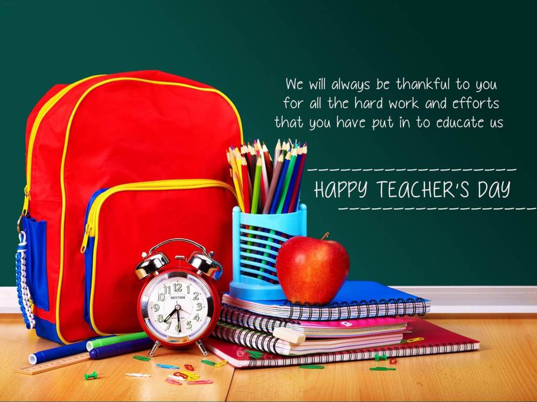 Teachers Day Wallpapers With Quotes Imagewallpapers