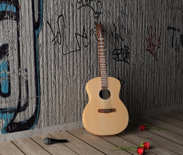 Wallpaper Guitar Hd Wallpaper