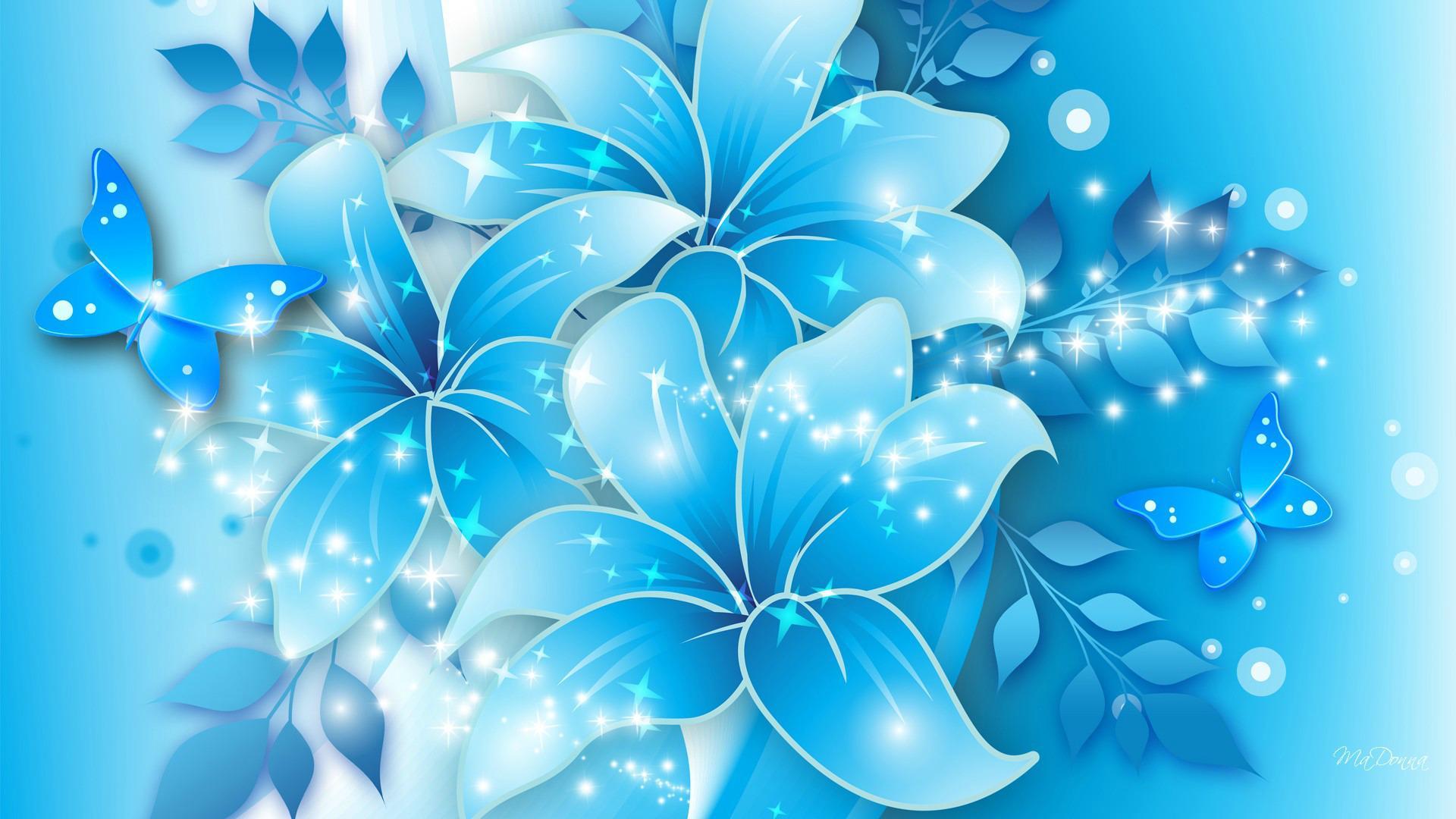 blue flowers wallpaper   hd wallpapers pulse
