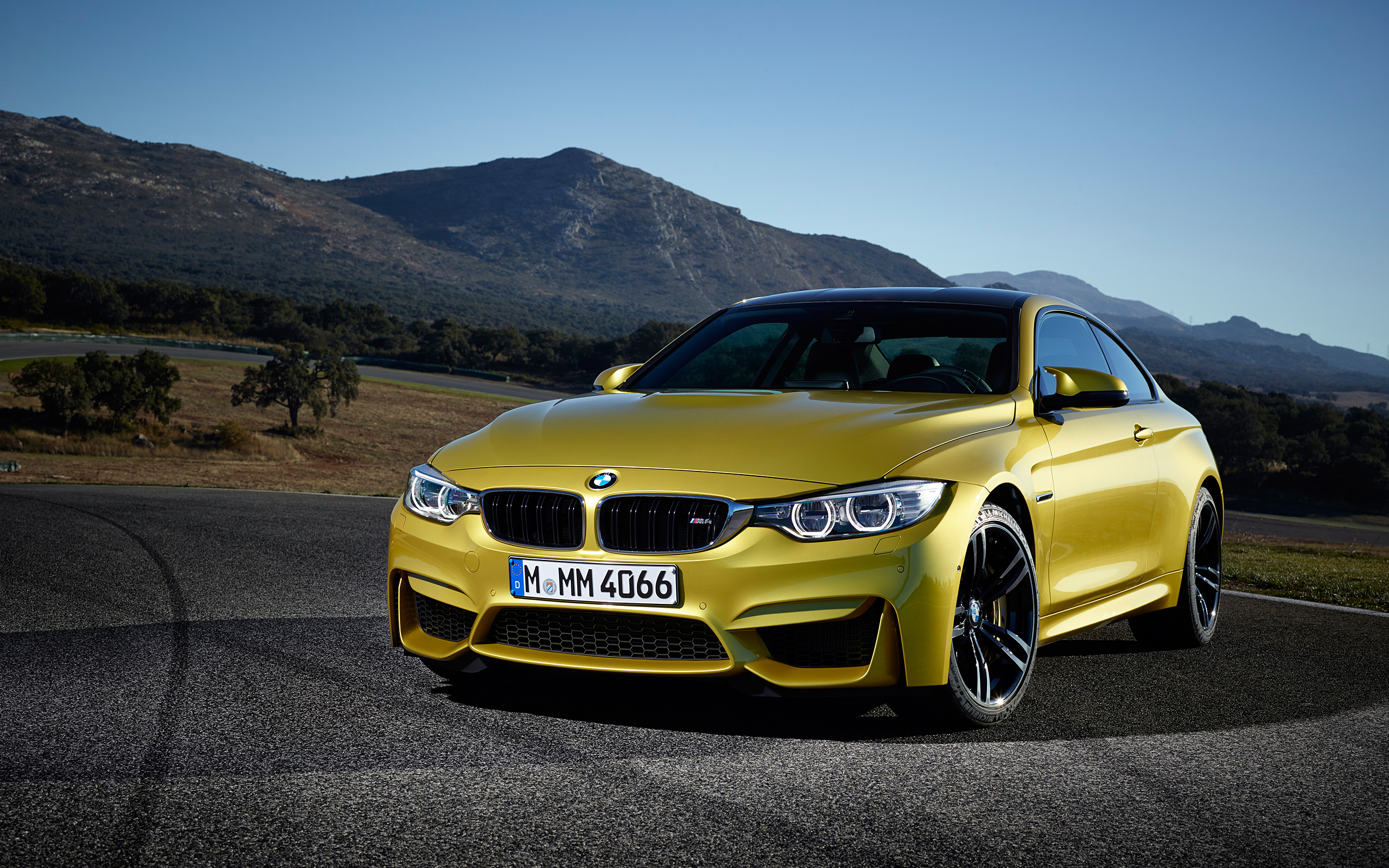 BMW M4 Wallpapers   HD Wallpapers Pulse yellow hd BMW M4 image