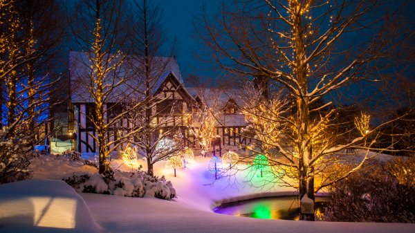 4K Christmas Wallpapers, Out Door Decoration 4K Christmas ...