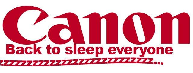 Canon-sleep