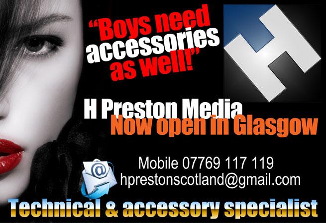 HD Warrior » Blog Archiv » H Preston Media is now open in Glasgow