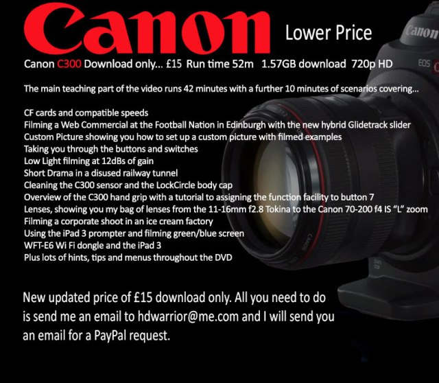 Canon-C300