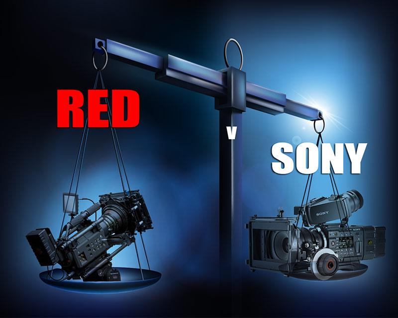 RED-v-SONY